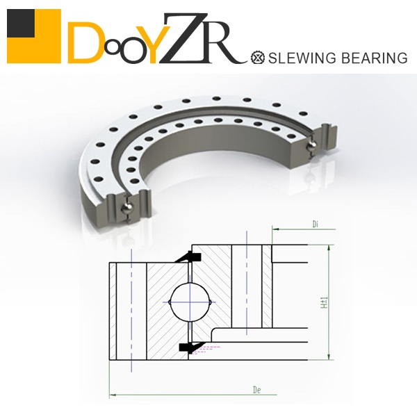 Komtsu PC60-6(76T) slewing bearing