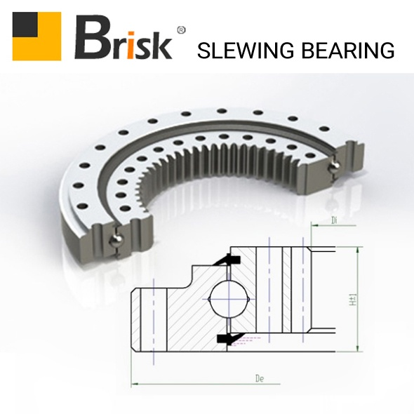 KR25H-3 slewing bearing